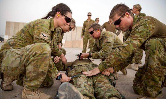 TCCC – Tactical Combat Casualty Care 1